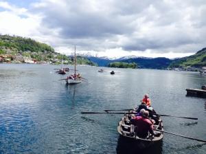 berre synet av fine flott kyrkjebåtar